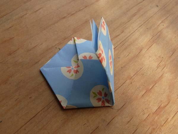 すべての折り紙 節分 豆入れ 折り紙 : 入れ口を閉じるために折ります ...